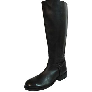 NEW Vince Camuto Farren Brown Leather Riding Boot